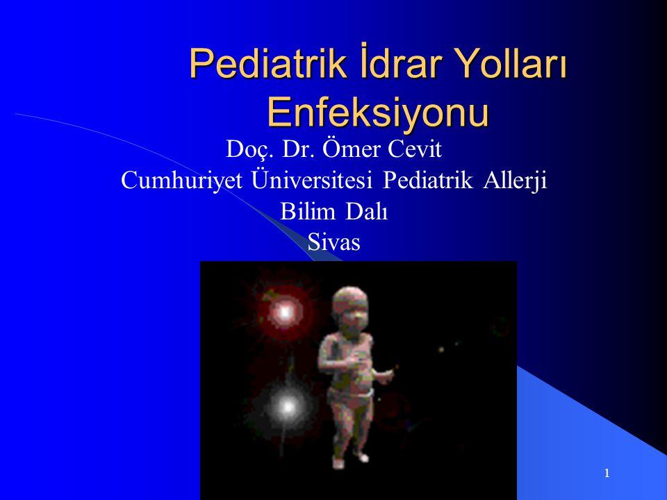 Pediatrik İdrar Yolları Enfeksiyonu