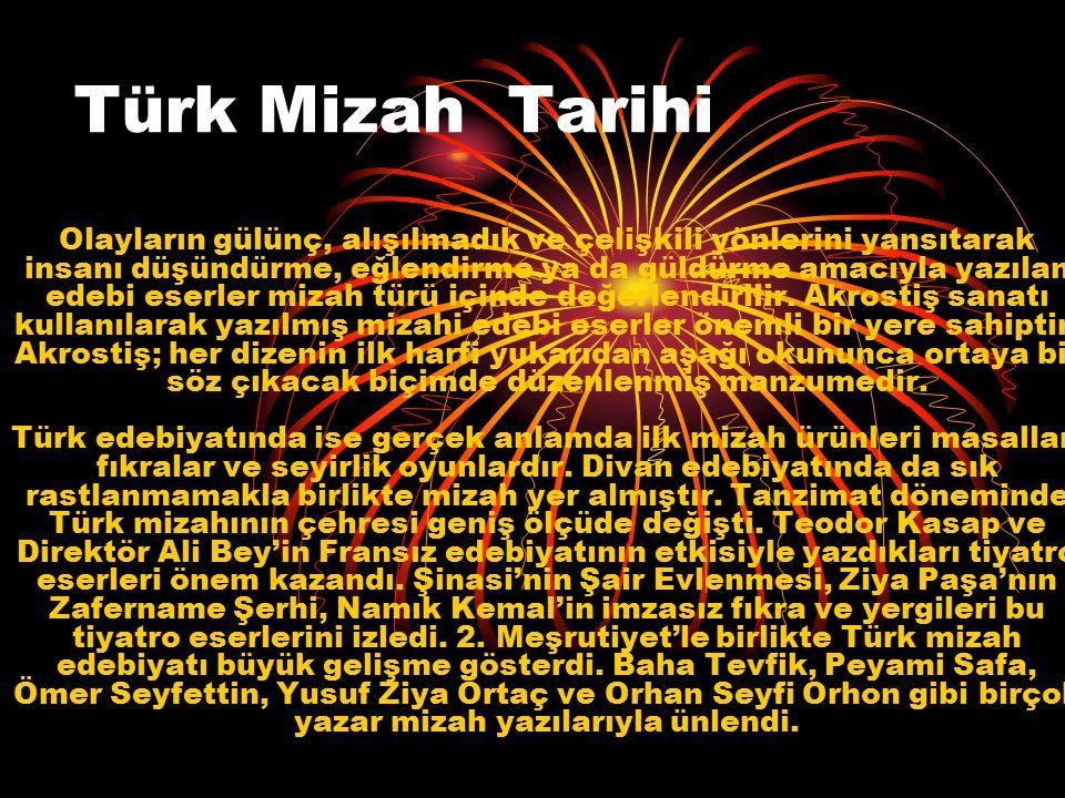 Türk Mizah Tarihi
