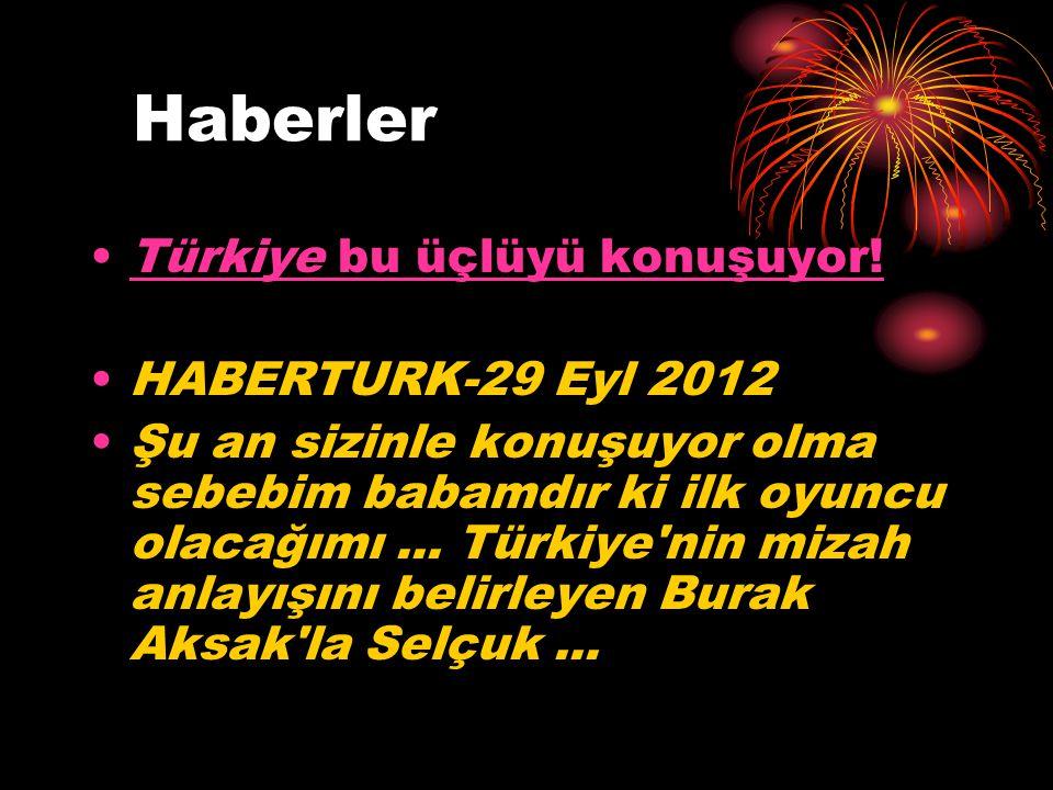 Haberler Türkiye bu üçlüyü konuşuyor! HABERTURK-29 Eyl 2012