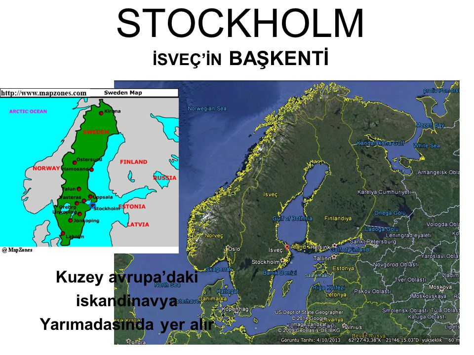 STOCKHOLM İSVEÇ'İN BAŞKENTİ