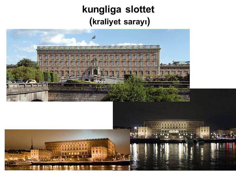 kungliga slottet (kraliyet sarayı)