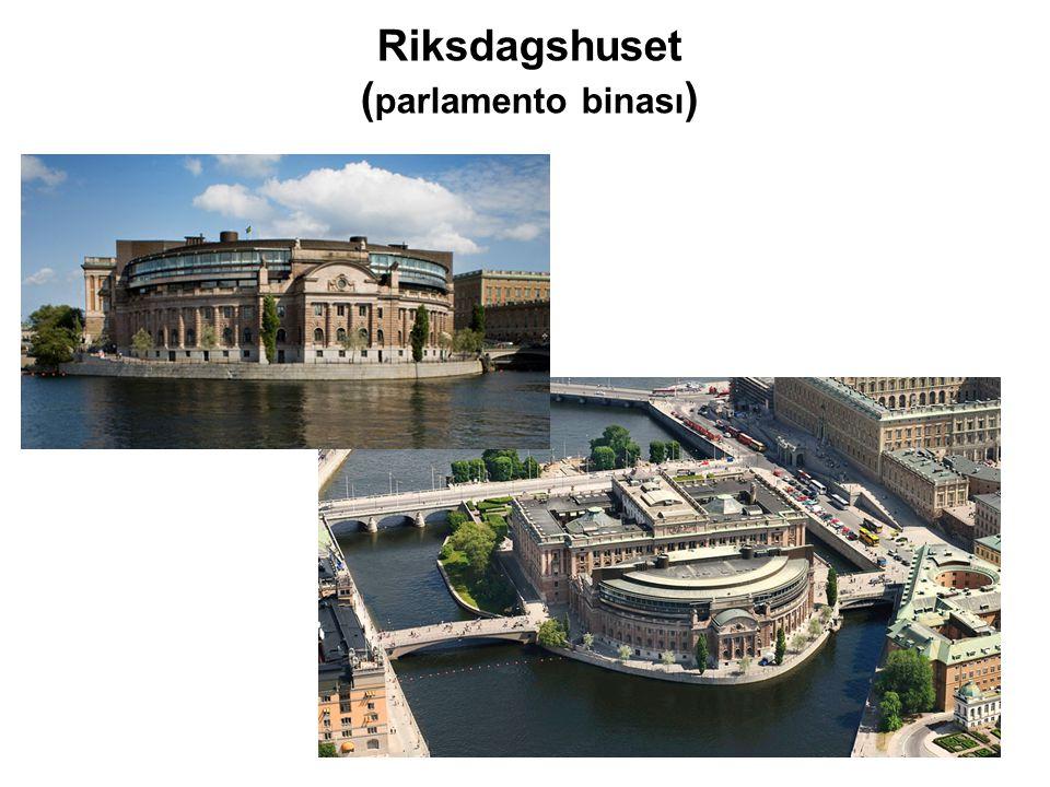 Riksdagshuset (parlamento binası)