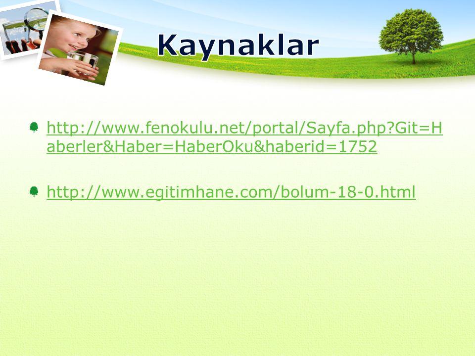 Kaynaklar http://www.fenokulu.net/portal/Sayfa.php Git=Haberler&Haber=HaberOku&haberid=1752.