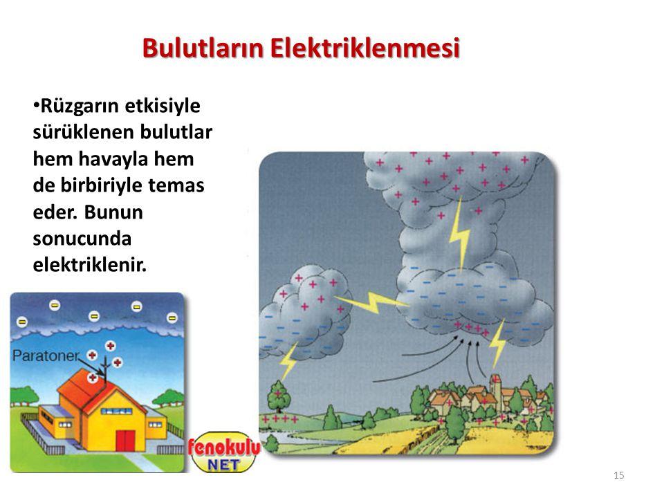 Bulutların Elektriklenmesi