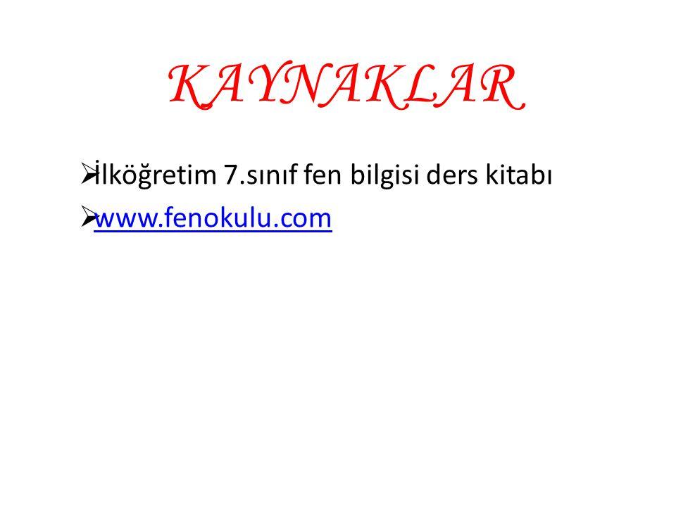 İlköğretim 7.sınıf fen bilgisi ders kitabı www.fenokulu.com