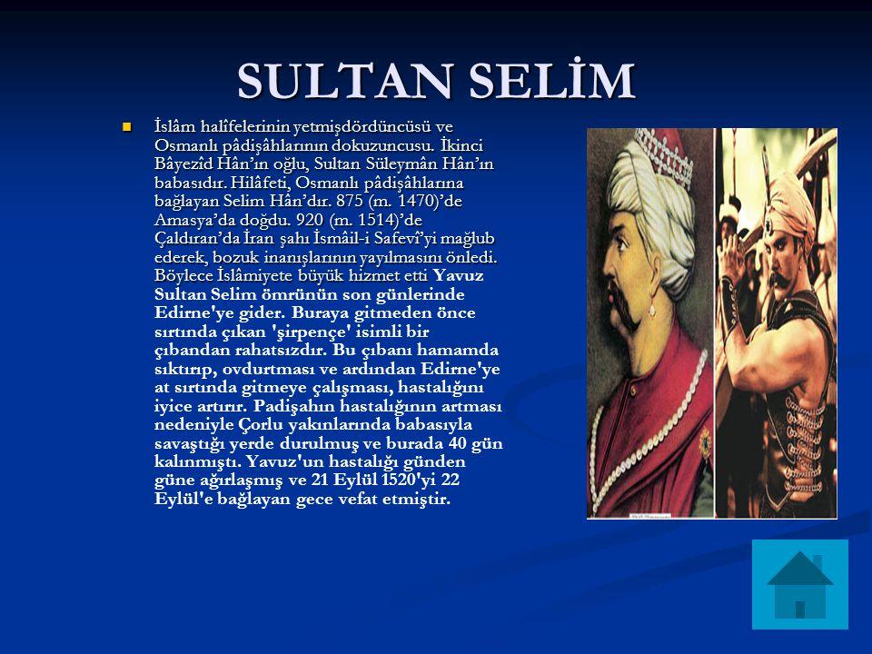 SULTAN SELİM