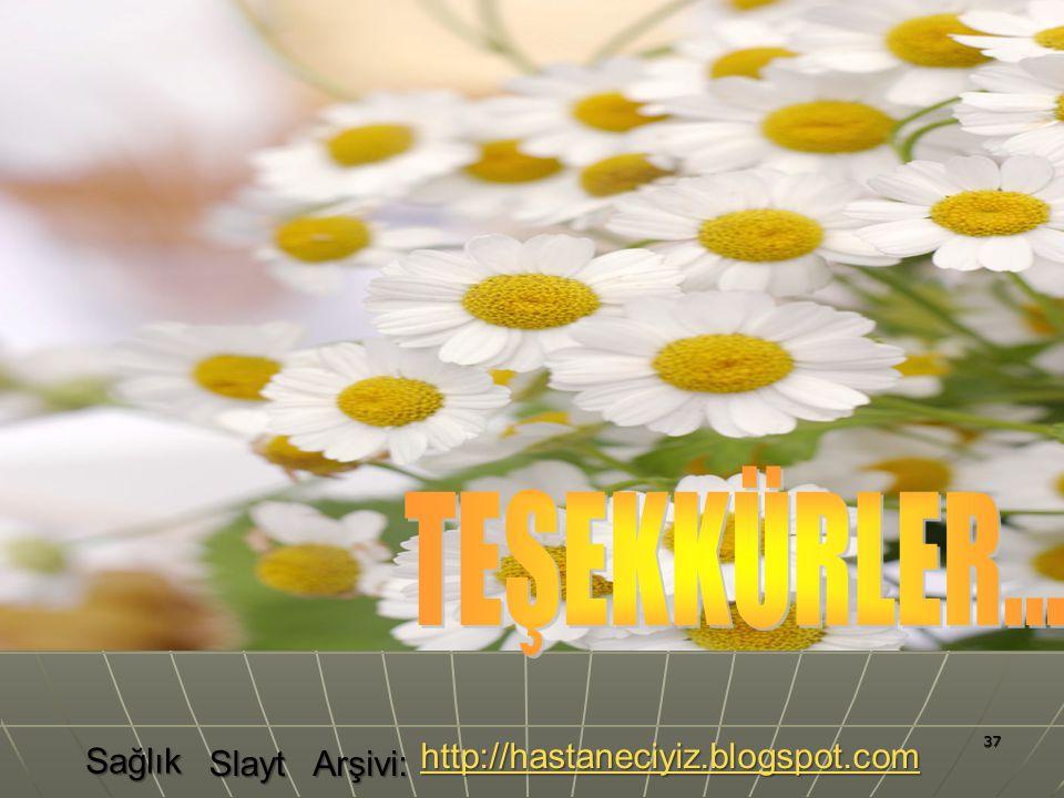 TEŞEKKÜRLER... Sağlık http://hastaneciyiz.blogspot.com Slayt Arşivi: