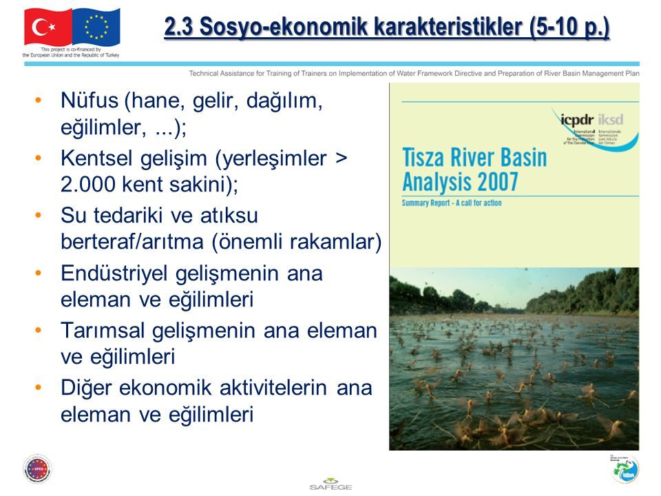 2.3 Sosyo-ekonomik karakteristikler (5-10 p.)