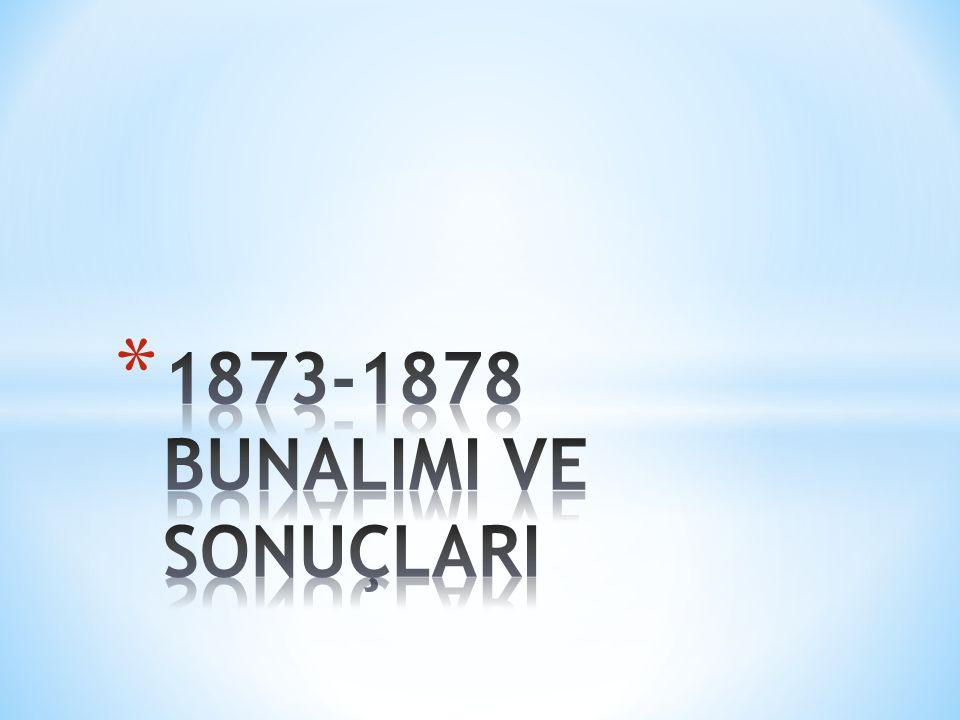 1873-1878 BUNALIMI VE SONUÇLARI