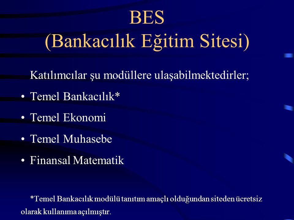 BES (Bankacılık Eğitim Sitesi)
