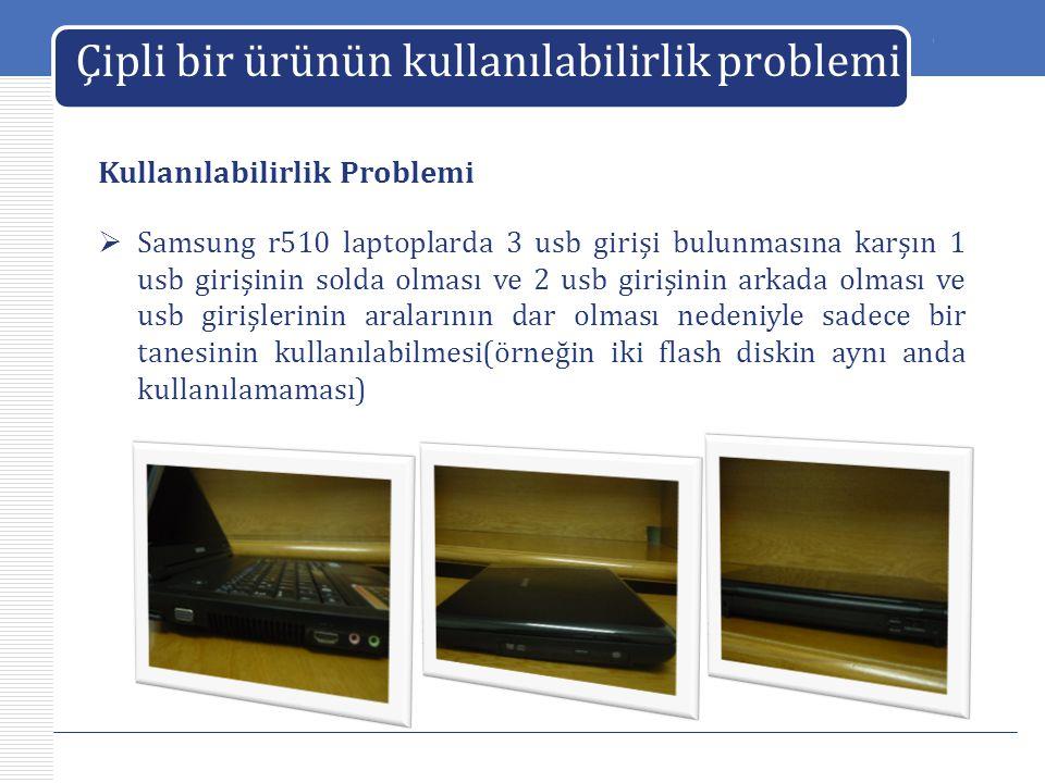 Çipli bir ürünün kullanılabilirlik problemi