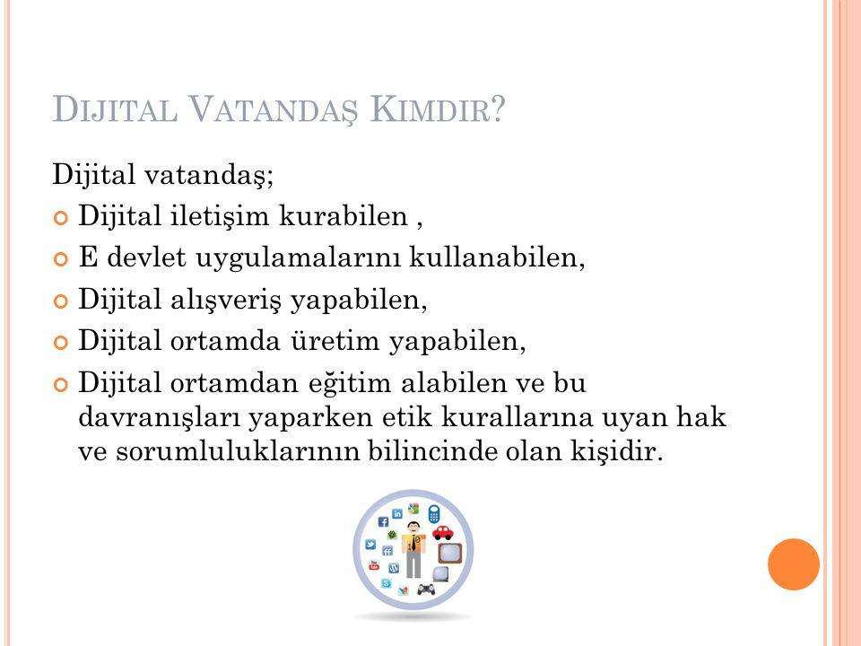 Dijital Vatandaş Kimdir