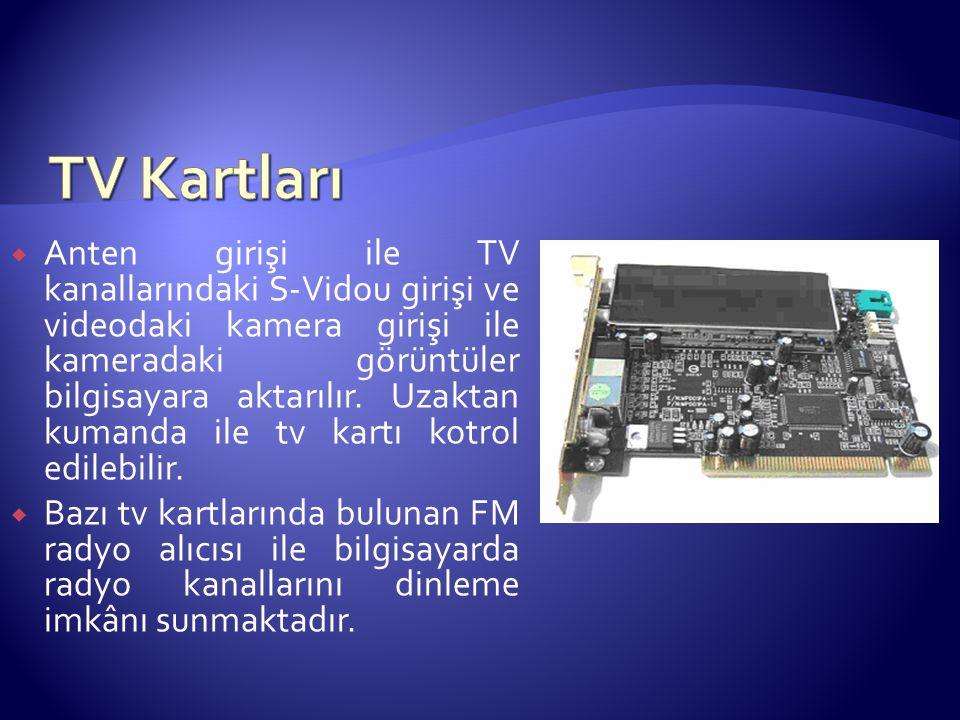 TV Kartları