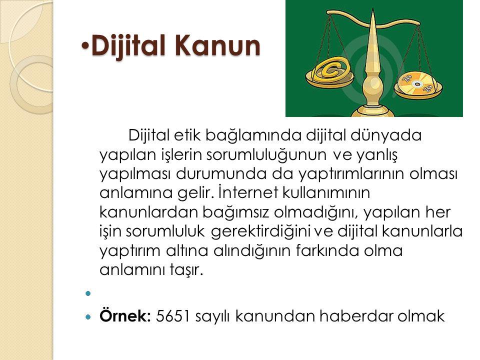 Dijital Kanun