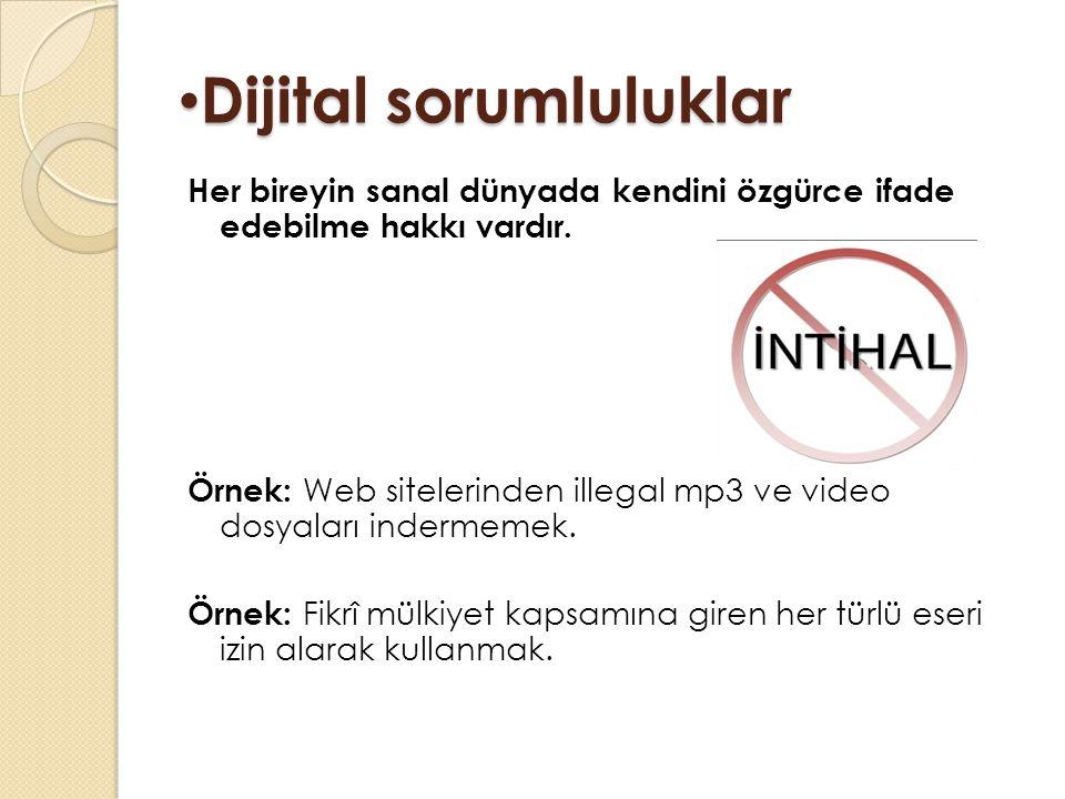 Dijital sorumluluklar
