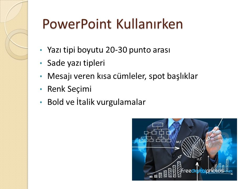 PowerPoint Kullanırken