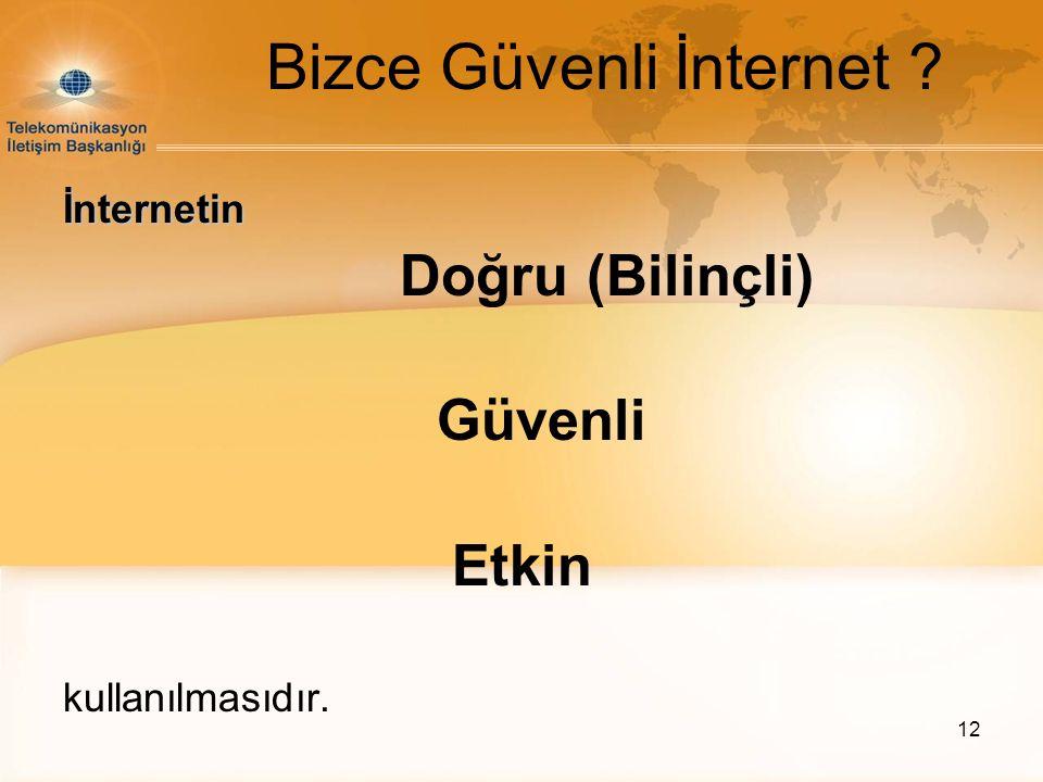 Bizce Güvenli İnternet