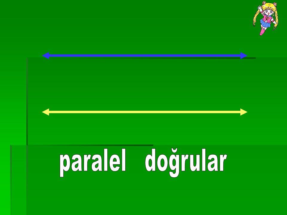 paralel doğrular