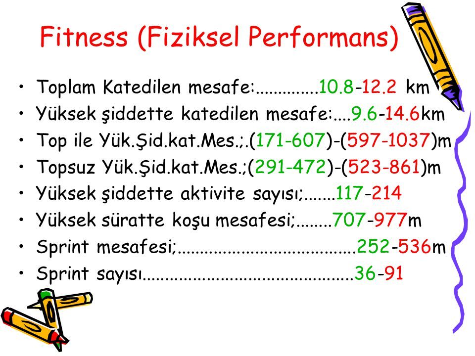 Fitness (Fiziksel Performans)
