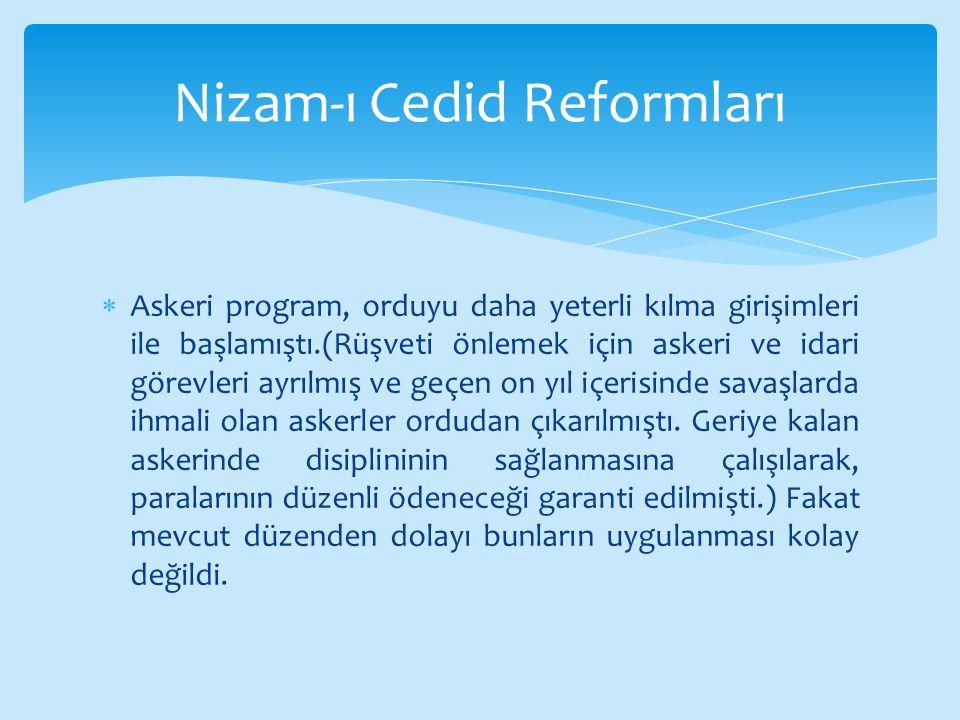 Nizam-ı Cedid Reformları