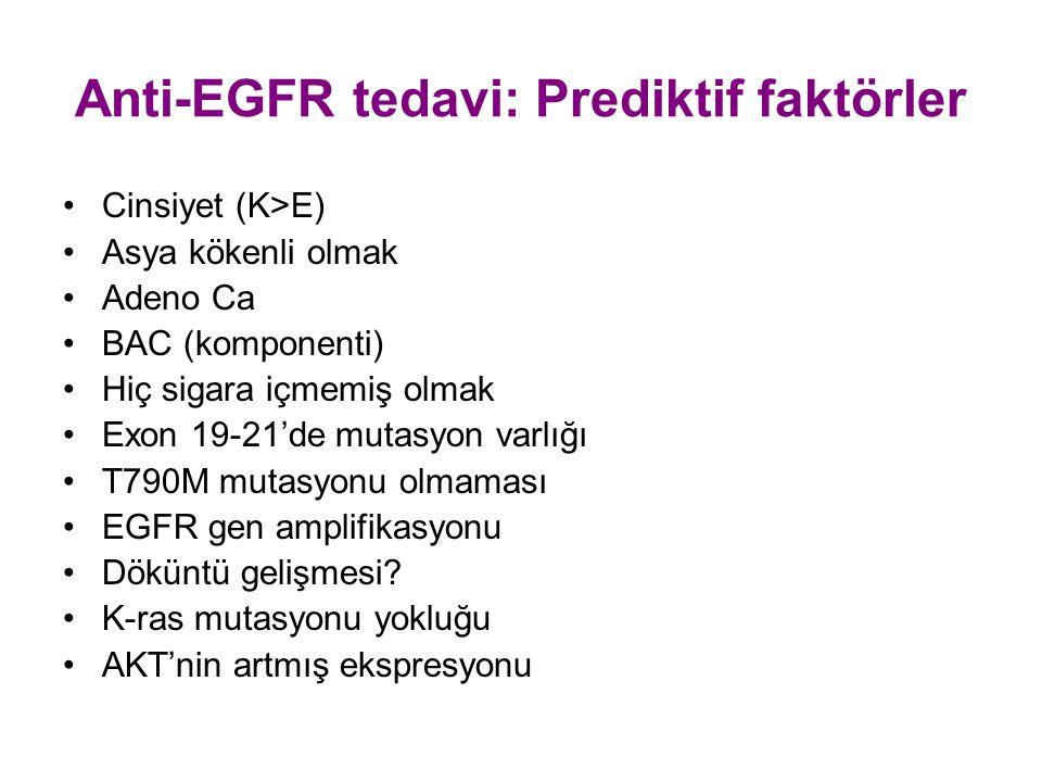 Anti-EGFR tedavi: Prediktif faktörler