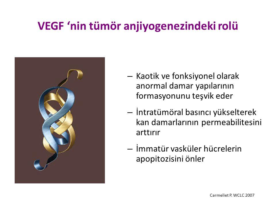VEGF 'nin tümör anjiyogenezindeki rolü