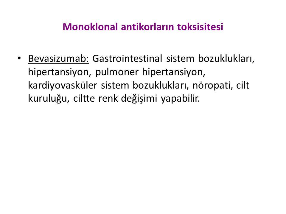 Monoklonal antikorların toksisitesi
