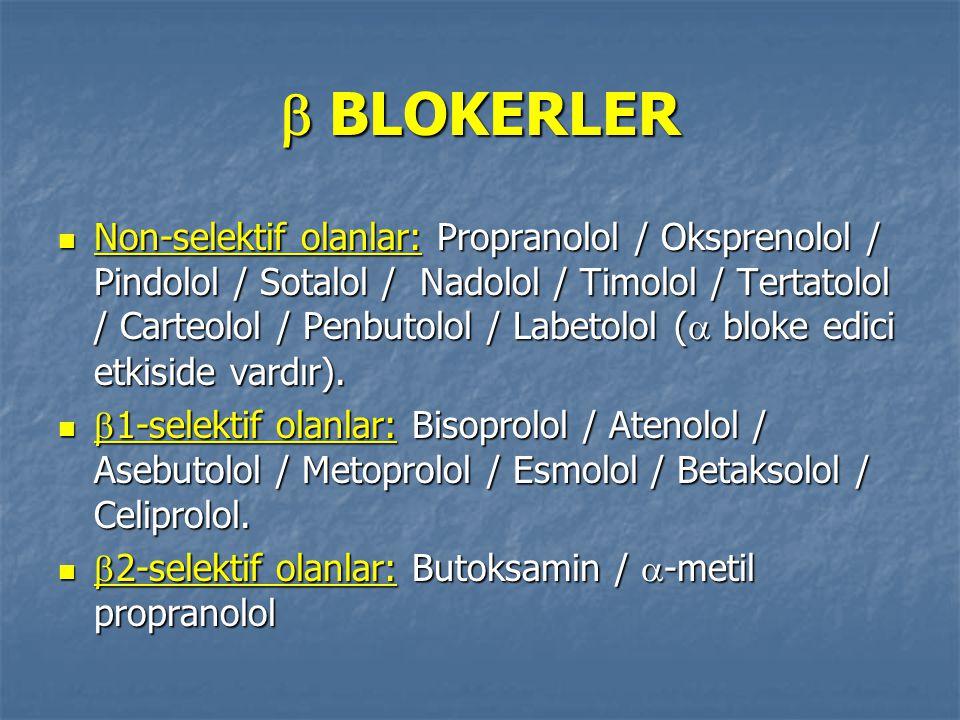  BLOKERLER