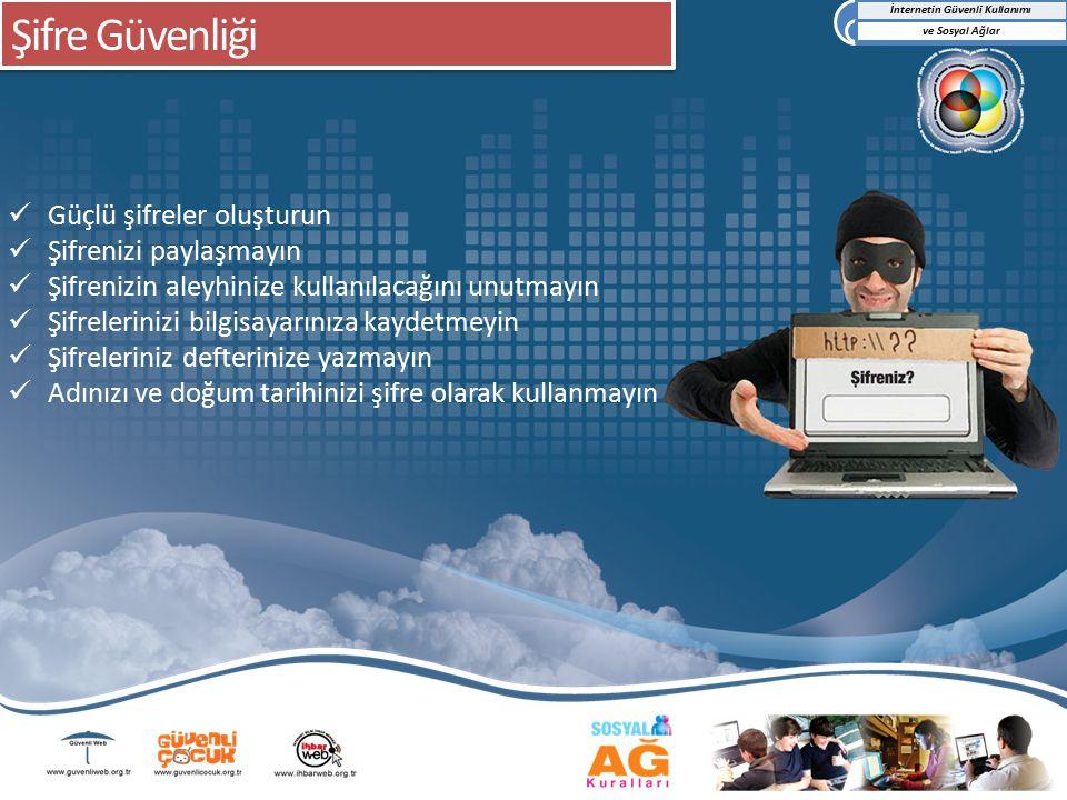 İnternetin Güvenli Kullanımı