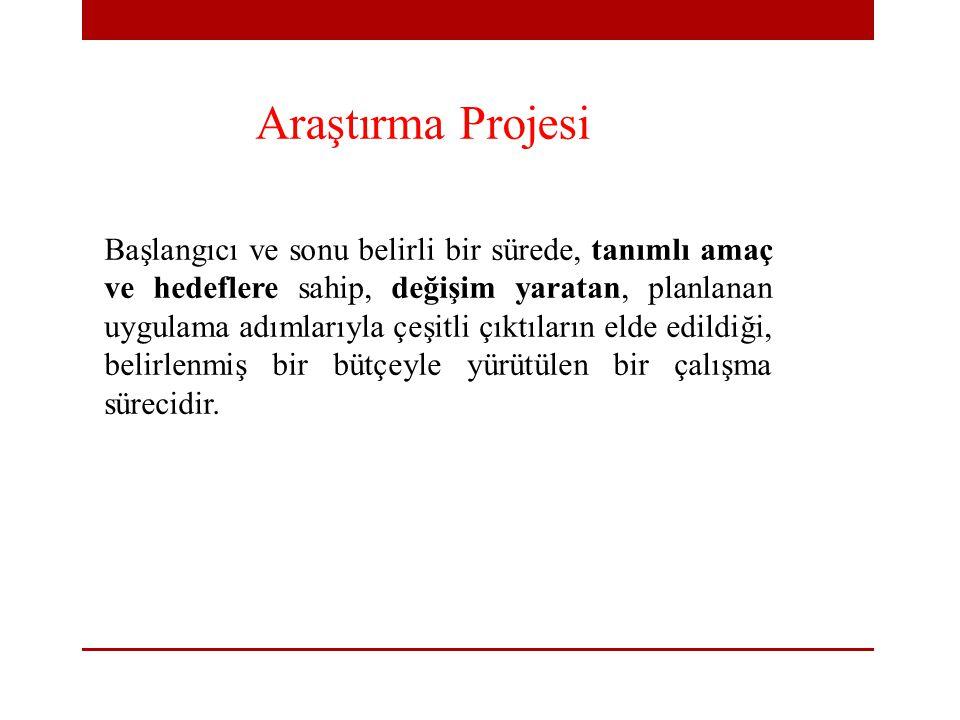 Araştırma Projesi