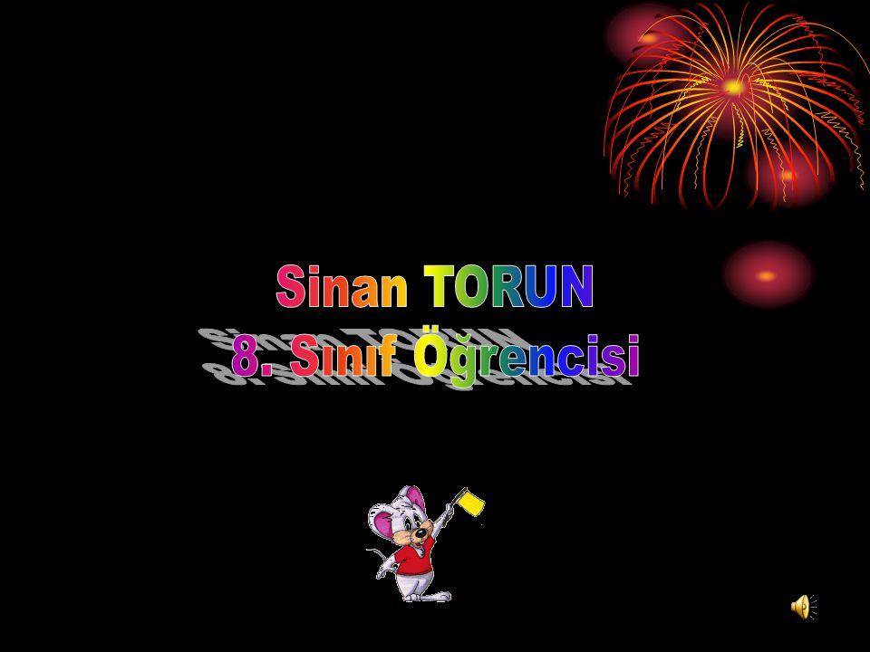 Sinan TORUN 8. Sınıf Öğrencisi