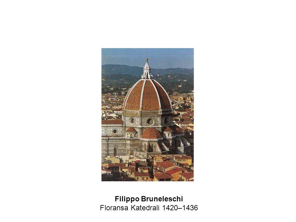 Filippo Bruneleschi Floransa Katedrali 1420–1436