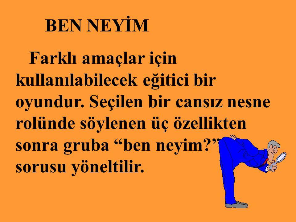 BEN NEYİM