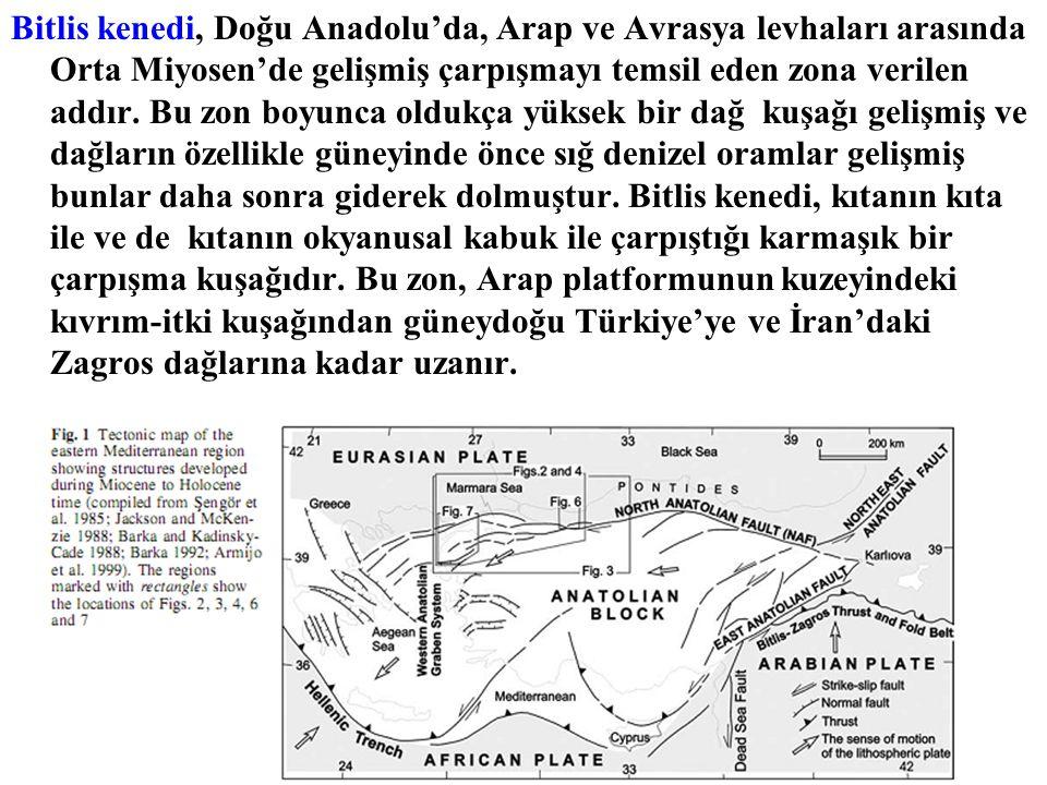 Bitlis kenedi, Doğu Anadolu'da, Arap ve Avrasya levhaları arasında Orta Miyosen'de gelişmiş çarpışmayı temsil eden zona verilen addır.