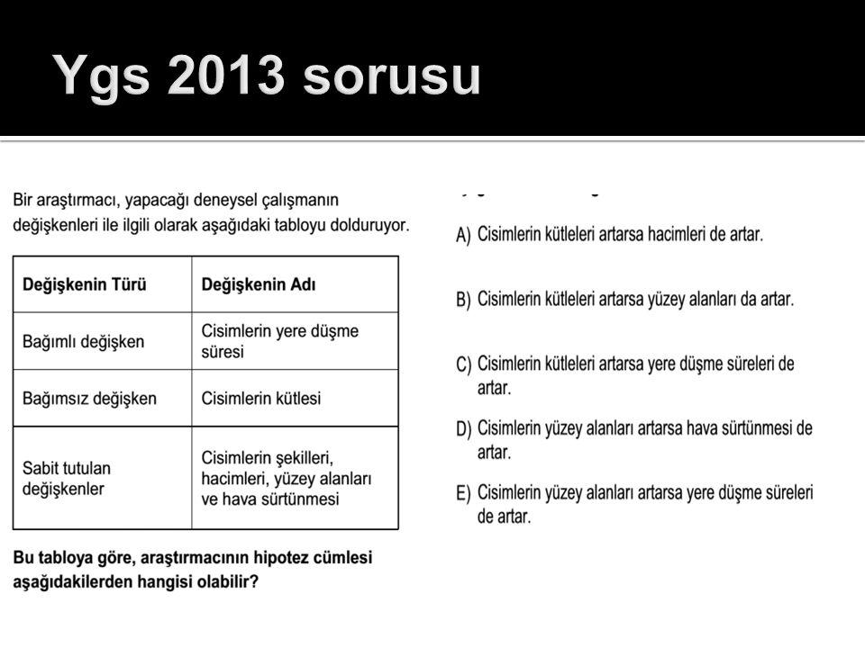 Ygs 2013 sorusu