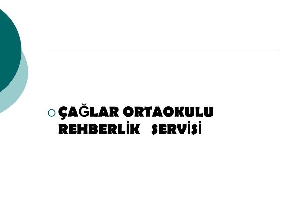 ÇAĞLAR ORTAOKULU REHBERLİK SERVİSİ