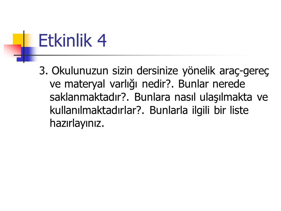 Etkinlik 4