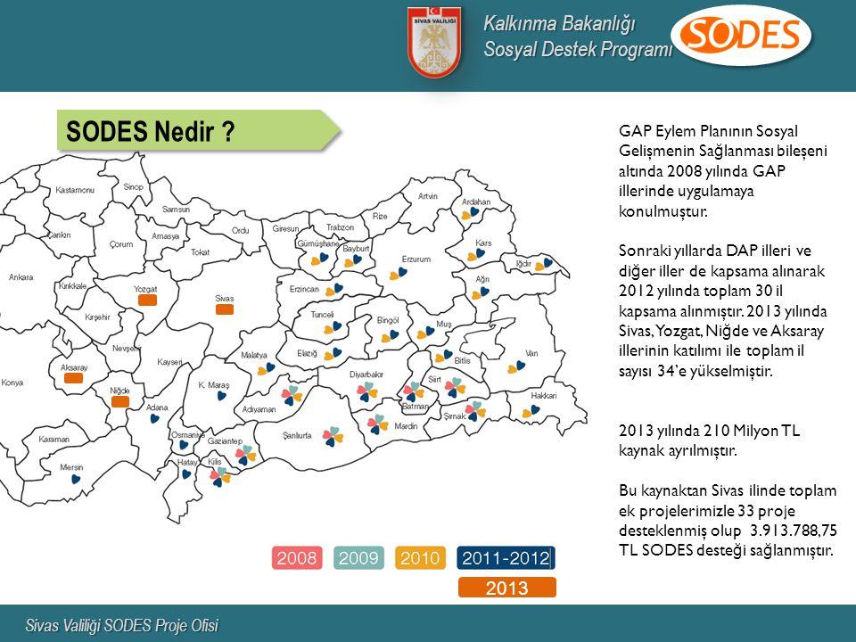 SODES Nedir Kalkınma Bakanlığı Sosyal Destek Programı 2013