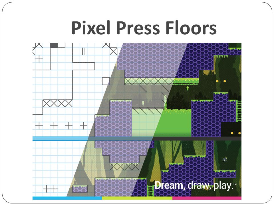 Pixel Press Floors Çizime devam