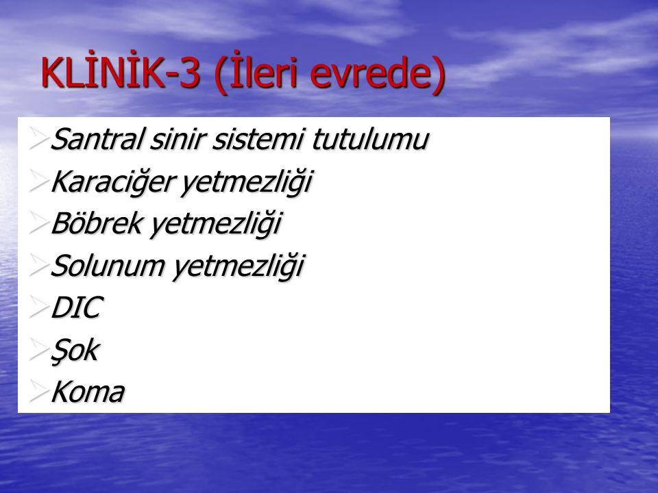KLİNİK-3 (İleri evrede)