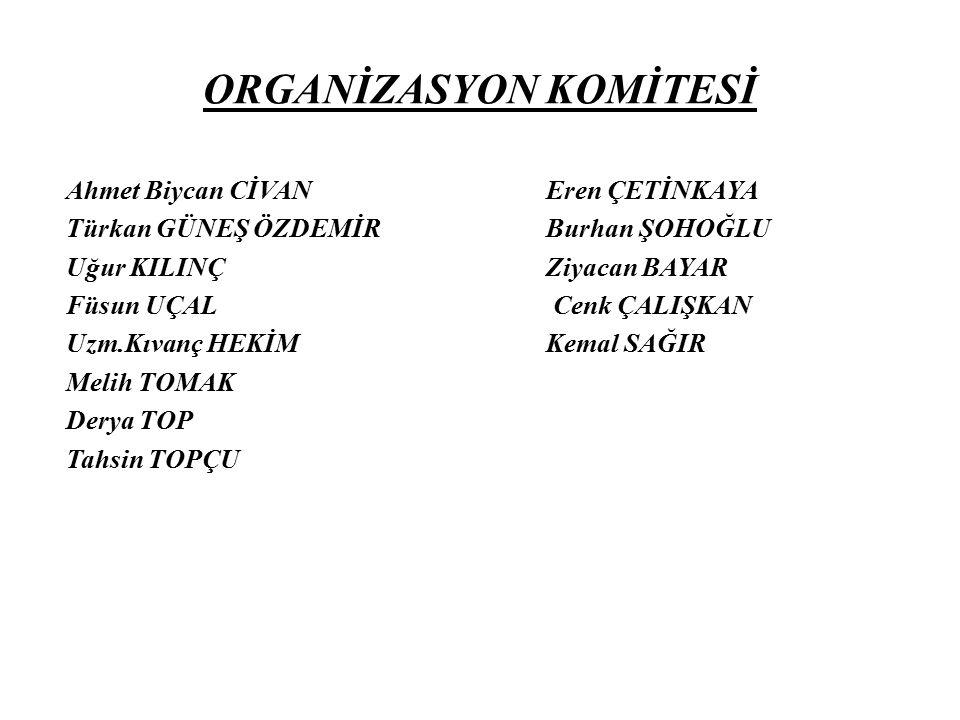 ORGANİZASYON KOMİTESİ