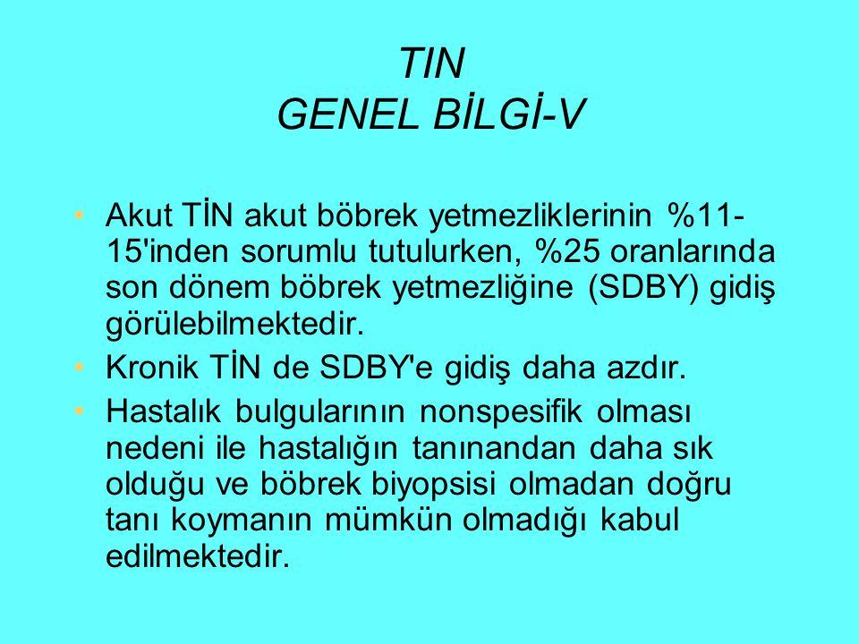 TIN GENEL BİLGİ-V