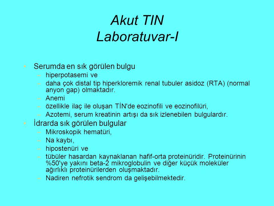 Akut TIN Laboratuvar-I