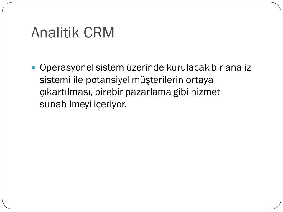 Analitik CRM