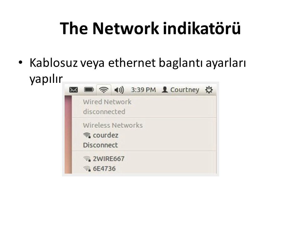 The Network indikatörü