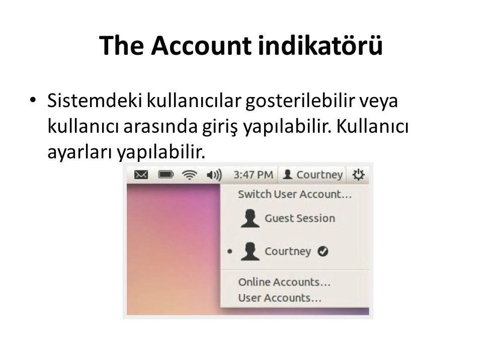 The Account indikatörü