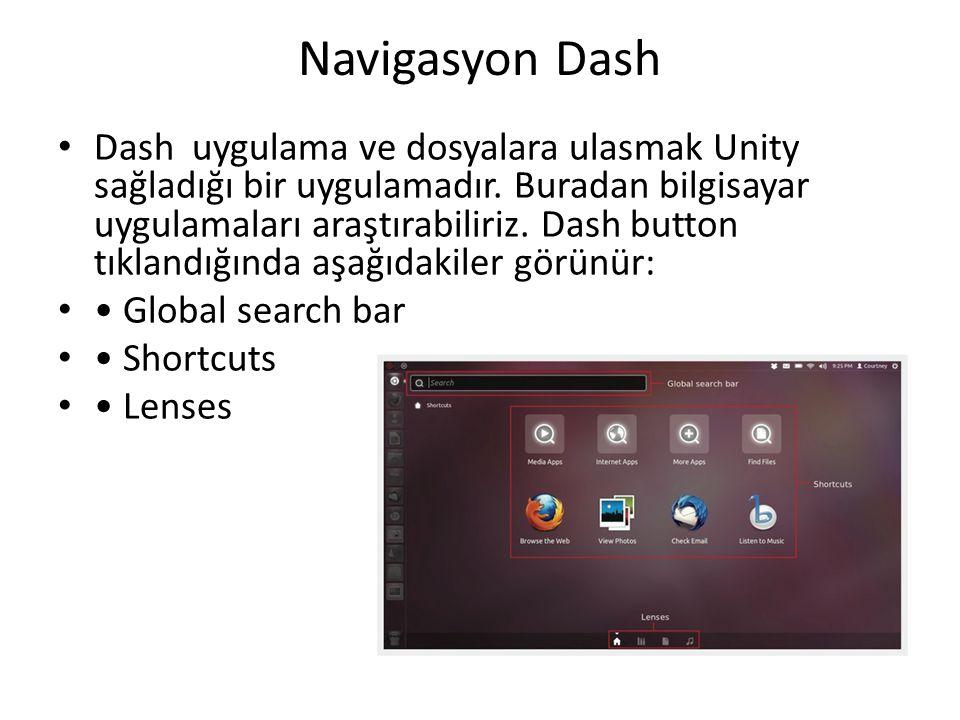 Navigasyon Dash