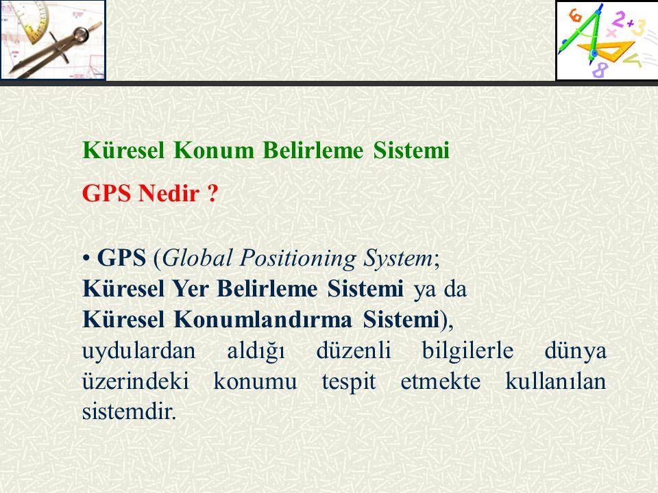 Küresel Konum Belirleme Sistemi