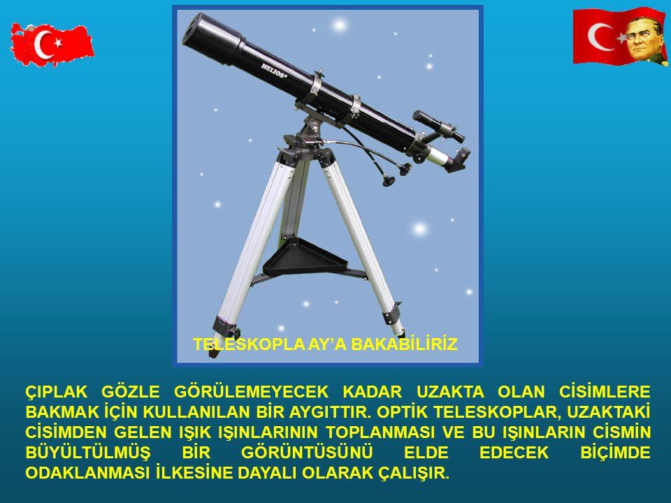 TELESKOPLA AY'A BAKABİLİRİZ