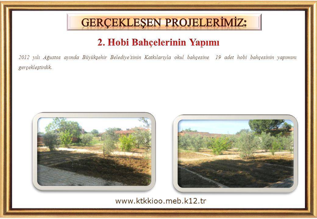 2. Hobi Bahçelerinin Yapımı